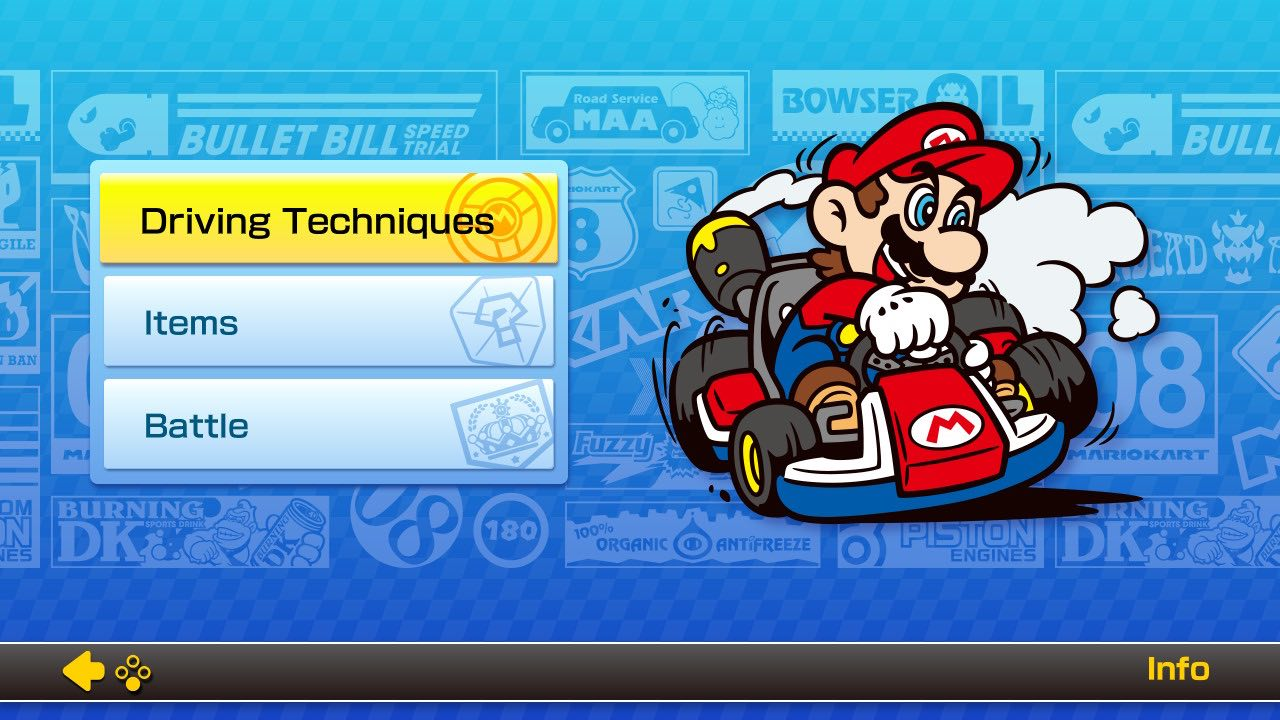 Mario-kart-8-old-school-screen-pixel-waves